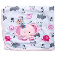 Receiving Blanket(Pink Elephant)
