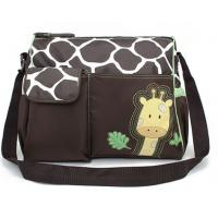 Diaper Bag, Green Giraffe