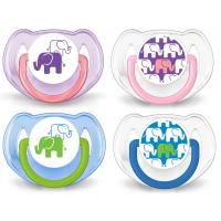 Philips Avent Soother Elephant Design 6-18Month Twin Pack