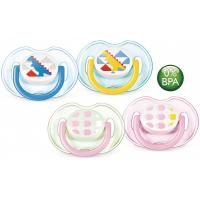Philips Avent Soother Fashion Range 0-6 Month Twin Pack