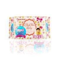 CHUCHUBABY:Hand & Mouth Wipes 4x25s