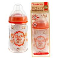 CHUCHUBABY:Wide Neck Glass Feeding Bottle 160ML