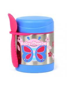 Skip Hop:Zoo Insulated Food Jar-butterfly