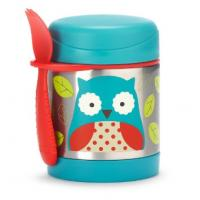 Skip Hop:Zoo Insulated Food Jar-owl