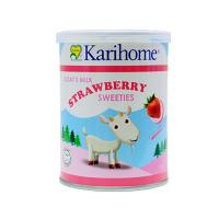 Karihome Goat Milk Strawberry Sweeties (70 sweetie...