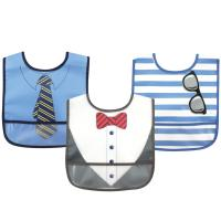 Luvable Friends 3 Easy Clean Bibs