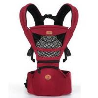 Aiebao Hip Seat+Carrier,Red(Mesh)