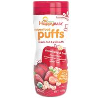 Happy Baby:STRAWBERRY PUFFS
