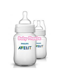 Philips Avent Classic + PP Bottle 260ml/9oz Twin Pack