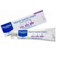 Mustela Vitamin Barrier Cream123 100ml