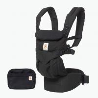Ergo Baby Omni 360 All-IN-ONE Baby Carrier(Pure Black)
