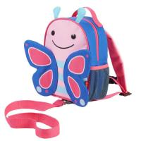 Skip Hop Mini Backpack With Rein-Butterfly