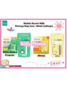 Malish Save 'N Go Breast Milk Storage Bags 6oz
