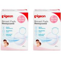Pigeon Breast Pads Honeycomb 60pcs (Value Pack)