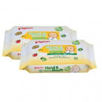 Pigeon Hand & Mouth Wipes 2x60's