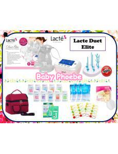 Lacte Duet Elite Double Electric Breastpump Package