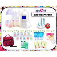 Spectra 9+ Double Electric Breastpump Package