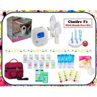 Cimilre F1 Double Electric Breastpump Package with Hands Free Kit
