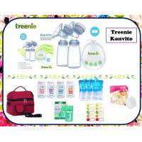 Treenie Konvito Double Electric Breastpump Package
