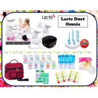 Lacte Omnia Double Electric Breastpump Package