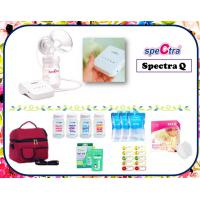 Spectra Q Single Electric Breastpump Package