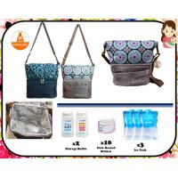 Kangalove Cooler Bag (Grey/Blue)