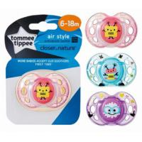 Tommee Tippee Air Style Orthodontic Soother 6-18m