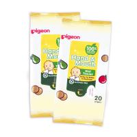 Pigeon Hand & Mouth Wet Tissue 2x20's