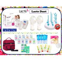 Lacte Duet Double Electric Breastpump Package (With Cimilre Hnads Free)