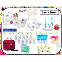 Lacte Duet Double Electric Breastpump Package (Cimilre Hands free & 2nd Gen Soft shield)
