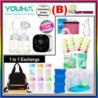 Youha ONYX Duo Black Series Rechargeable Double Electric Breastpump