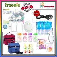 Treenie Kompakto Double Electric Portable & Smallest Breastpump/Breast Pump Package