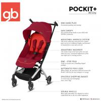 GB Pockit Plus/+ All-City Ultra Compact & Light weight Cabin Size Stroller + Travel Bag (1pc)