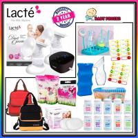 Lacte Duet Omnia Rechargeable Electric Breast Pump Package