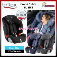 Britax Evolva 123 SL SICT Booster Car Seat
