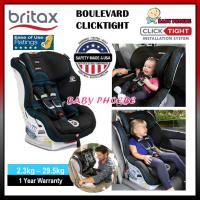 Britax Boulevard Clicktight - Cool Flow Teal