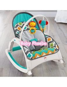 Fisher-Price Newborn-to-Toddler Portable Rocker - Glacier Wave