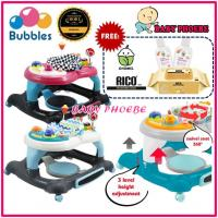 Bubbles 3in1 Function Baby Walker (1pc)